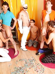 Group gay porn fucking and gay group shower fucking at Crazy Party Boys