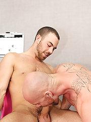 Gay red hair guys and average naked penis at My Gay Boss