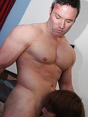Sexy boys fucking in bathrooms and fucking sexy men at Bang Me Sugar Daddy