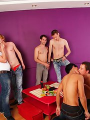 Gay group sex organizations and super gay porn group sex xxx at Crazy Party Boys