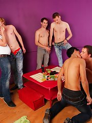 Group gay sex and spamfree gay groups older younger studs at Crazy Party Boys