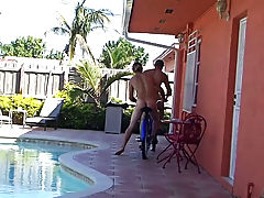 They had to flash an old lady, skinny dip in a strangers pool and a bunch of other crazy shit and recorded it all on video gay group circle jerks