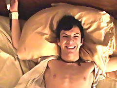 Twink lipstick video and passed out straight guy gets gay blowjob - at Boy Feast!