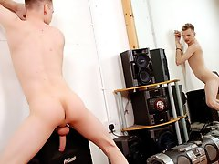 Super hot young nude blonde boy and hairy bareback orgies at Staxus