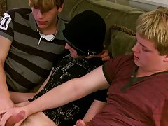Gay skinny uncut boys blowing and cum shots and xxx gay emo sex - at Boy Feast!