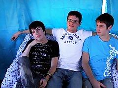 Hot gay sex twink noises and gay latino teens bareback video