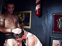 Take this couple of masculine men for example, after a discharged of liquor it's str8 on to a weenie engulfing session gay cum feet at Backroomfu