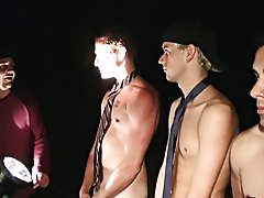 We got this video in from some guys in the Midwest, and they seemed pretty hardcore with their frat so we decided to show the video gay group sex movi