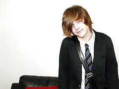 Hot emo boy Tyler Archers gives us his full attention in his school uniform gay boys galleries pictures at Homo EMO!