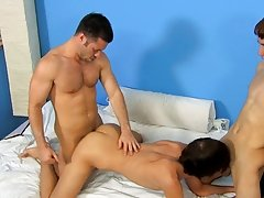 It's a cheerful ending for all as this Puerto Rican man copulates the cum out of the one and the other boys wild gay group sex at I'm Your B