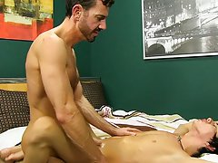Straight guy kissing porn and nude policemen fucking at Bang Me Sugar Daddy
