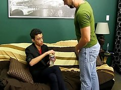 Dustin sits on it, takes it doggystyle, and ends up blowing his load during the time that Preston bonks him missionary gay anal cocks at I'm Your