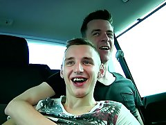 Double anal fuck gay and boy kissing to grandpa xxx images - at Boys On The Prowl!