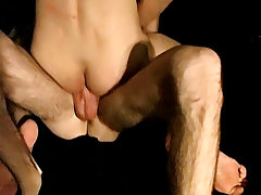 Fucking farmer boy and first time broken straight guys in the bus sex - at Tasty Twink!