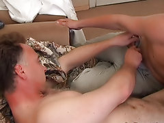 He didn't know what it was - either high temperature, or maybe problems with his cock mature gay post