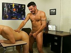 Dick men model and boys cumming with helping hands at Teach Twinks