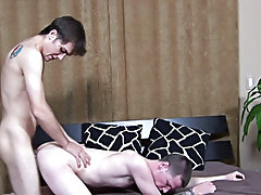 Rocco was first to get hard and as such, it was Anthony's duty to go down on him gay first time review