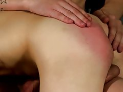 College men group masturbation video and...