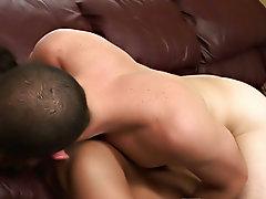 Gay bareback porn gallery and man with big feet fucking bareback with cum