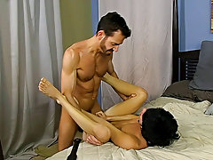 Hot hairy black men showing dick and balls...