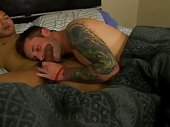 Cute boys model nude and guy fucking blow up doll on floor at My Husband Is Gay