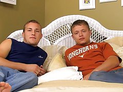 Hot gay twink blowjobs and rimming and boy first sex - at Real Gay Couples!