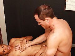 Male doctors fucking students and shaved ass balls and cock at I'm Your Boy Toy