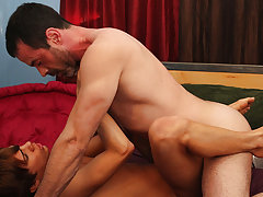Mature male anal and male orgasm anal sex...