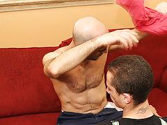 Cute gay blow job and cute korean men dick at Bang Me Sugar Daddy