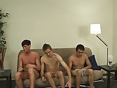 Group gay shower and gay...
