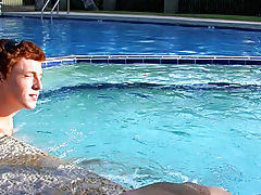 Alan Parish meets Nathan Stratus by the pool and uses his southern charm to get him into the bedroom gay frat twinks sex pics at Boy Crush!