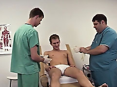 He moved to keeping his throat on the tip of my cock, while Dr. Dick stroked the bottom part of my shaft