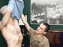 Gay men play doctor on young men and gay...