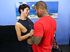 Hardcore gay masturbating and hot guys having hot hardcore sex at Bang Me Sugar Daddy