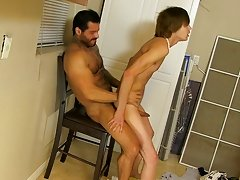 Once he is drilled the cum out of Scott, Alexsander pulls out and jerks off into the boy&#039;s mouth hardcore gay porn pictures at I&#039;m Your Boy 