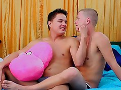 Straight men seduced by gay men first time fuck video and hot gay twinks with hard cocks - at Real Gay Couples!
