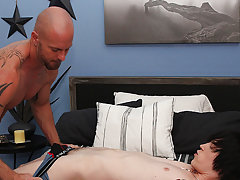 Male anal strap on amateur at I'm Your Boy Toy