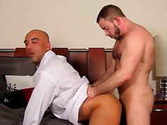 Cute boy uncut penis and indian gay boys hardcore anal at My Gay Boss