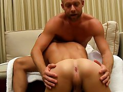 Young 1 gay boys rimming and men cum...