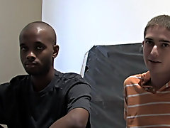 This is one of my favorite parts of the video interracial gay hardcor at Broke College Boys!