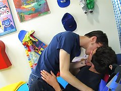 Twink gay shower seduction and emo twink movie tube