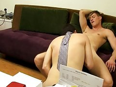 Joey Perelli is left in charge of the office and his first order of business is to get Harrison to suck his big dick my first sex teacher mr at My Gay