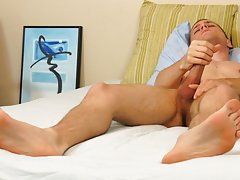 Gay masturbation free clips and young penis jerked