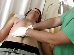 Gay cumshot moans and nude college boys play with their penis