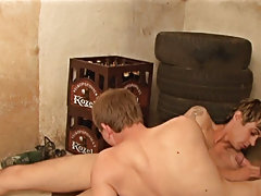 Erik bounces on him, letting Louie on it deep into his ass gay naked guys giving blowjobs