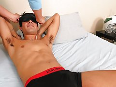 Gay male masturbation machines and...