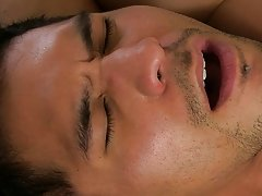 Once he showers the new boy in his cum, Mitch feeds it to Spencer, snowballing him previous to sitting on Spencer's face and demanding this guy c