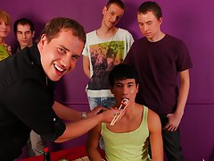 Male seeking masturbation group with men and wonem and gay group sex movies at Crazy Party Boys