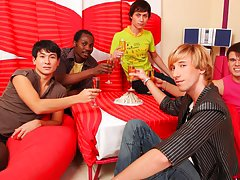 Gays in group porno and blue man group las...
