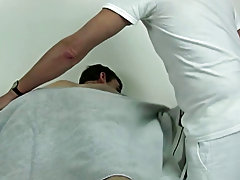 While I was doing this, I fondled his ball sack and was playing with his cock that was getting hard gay fetish thumbs